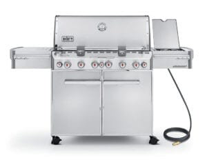 Weber-Summit-S-670-Stainless-Grill