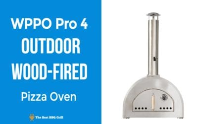 WPPO Pro 4 Outdoor Wood-Fired Pizza Oven