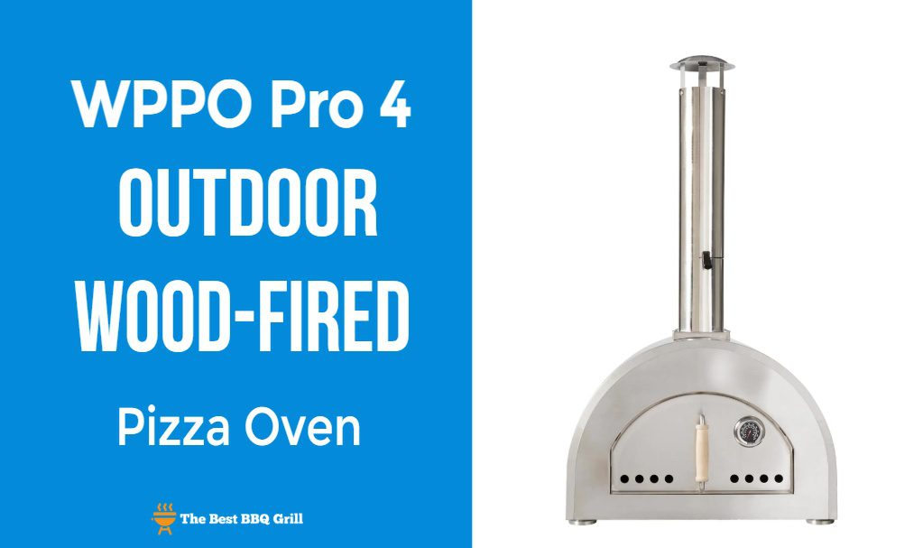 WPPO Pro 4 Outdoor Wood Fired Pizza Ove