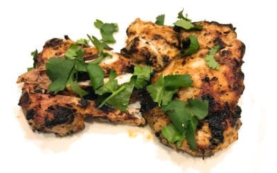 Grilled Thai Flavoured Coconut Chicken Thigh Fillets