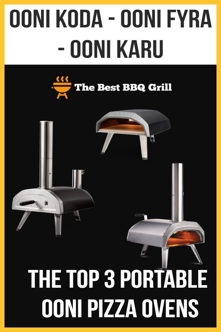 Top 3 Ooni Portable Pizza Ovens-Pin3